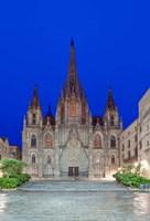 Gothic Quarter, Barcelona Cathedral, Barcelona, Spain Fine-Art Print