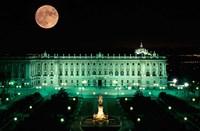 Royal Palace and Plaza de Oriente, Madrid, Spain Fine-Art Print
