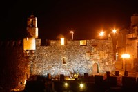 Fortress by Night, Tenerife, Canary Islands, Spain Fine-Art Print