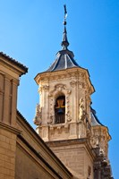 Spain, Granada Bell tower of the Church of San Justo y Pastor Fine-Art Print