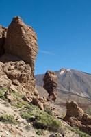 Spain, Tenerife, Las Canadas, Volcanic rock Fine-Art Print