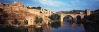 Puente De San Martin Bridge over the Tagus River, Toledo, Spain Fine-Art Print