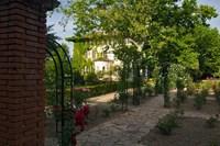 Entrance gate to Cordorniu Winery, Catalonia, Spain Fine-Art Print