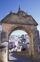 Entry to Jewish Quarter, Puerta de la Exijara, Ronda, Spain Fine-Art Print
