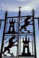 Decorative Wrought-Iron Gate of Alcazar, Cordoba, Spain Fine-Art Print