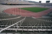 Olympic Stadium, Barcelona, Spain Fine-Art Print