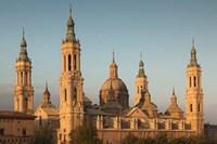 Basilica de Nuestra Senora de Pilar, Zaragoza, Spain Fine-Art Print