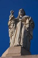 Christ Atop Castilla Santa Cruz de la Mota, San Sebastian, Spain Fine-Art Print