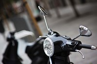Black Vespa, Madrid, Spain Fine-Art Print
