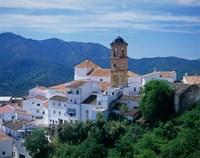 White Village of Algatocin, Andalusia, Spain Fine-Art Print