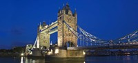 UK, London, Tower Bridge and River Thames Fine-Art Print