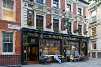 Sherlock Holmes, Pub, London, England Fine-Art Print