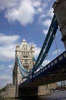 The Tower Bridge over the Thames River in London, England Fine-Art Print