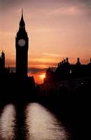 The Big Ben Clock Tower, London, England Fine-Art Print