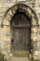Medieval City Wall Door, York, Yorkshire, England Fine-Art Print