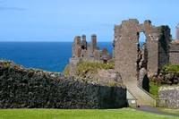 Ireland, Dunluce Castle Ancient Architecture Fine-Art Print
