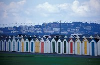 Beach Huts of Paignton, Devon, England Fine-Art Print