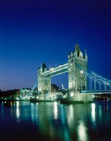 Tower Bridge, London, England Fine-Art Print