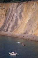 Colorful Cliffs, Alum Bay, Isle of Wight, England Fine-Art Print
