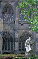 Statue of Richard Hooker, Exeter, Devon, England Fine-Art Print