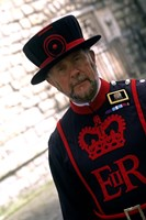 Beefeater at the Tower of London, London, England Fine-Art Print