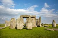 Stonehenge (circa 2500 BC), UNESCO World Heritage Site, Wiltshire, England Fine-Art Print