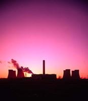 Coal Fired Power Station, Warrington, Cheshire, England Fine-Art Print