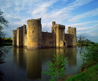 Bodiam Castle, Sussex, England Fine-Art Print