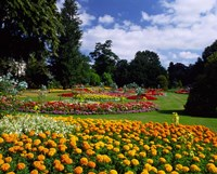 Jephson Gardens at Royal Leamington Spa, Warwickshire, England Fine-Art Print