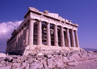 The Parthenon on the Acropolis, Ancient Greek Architecture, Athens, Greece Fine-Art Print