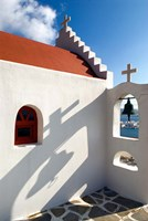 Church, Chora, Mykonos, Greece Fine-Art Print