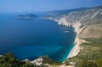 Coastline View, Assos, Kefalonia, Ionian Islands, Greece Fine-Art Print