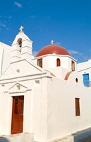 Church, Mykonos, Greece Fine-Art Print