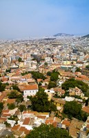 Crowded City of Athens, Greece Fine-Art Print