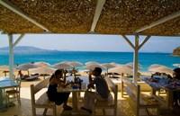 St Stefanos Beach, Mykonos, Greece Fine-Art Print