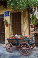 Old Wagon Cart, Chania, Crete, Greece Fine-Art Print