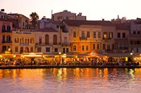 The Old Harbor, Chania, Crete, Greece Fine-Art Print