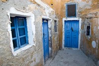 Very Old Building Built, Oia, Santorini, Greece Fine-Art Print