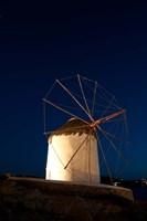 Windmill, Chora, Mykonos, Cyclades, Greece Fine-Art Print