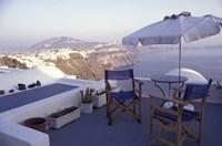 View Toward Caldera, Imerovigli, Santorini, Greece Fine-Art Print