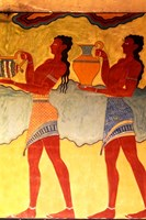 Artwork in Heraklion Knossos Palace, Greece Fine-Art Print