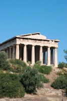Temple of Hephaestus, Ancient Architecture, Athens, Greece Fine-Art Print