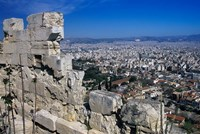 View of Athens From Acropolis, Greece Fine-Art Print