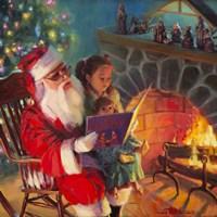 Santa Christmas Story Fine-Art Print