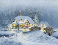Christmas At Kirby Cottage Fine-Art Print