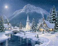 Christmas Village Fine-Art Print