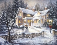 Winter's Welcome Fine-Art Print