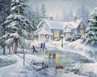 A Fine Winter's Eve Fine-Art Print