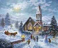 Parents Pray, Children Play Fine-Art Print