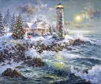 Lighthouse Merriment Fine-Art Print